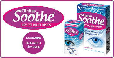 Clinitas Soothe preservative-free eye drops